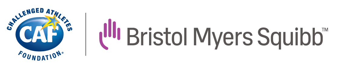 CAF + Bristol Myers Squibb logos